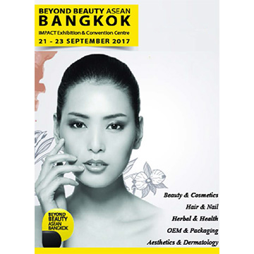 We will participate the Beyond Beauty ASEAN Bangkok 2017